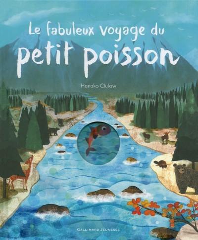 image couverture le fabuleux voyage du petit poisson hanako clulow gallimard jeunesse