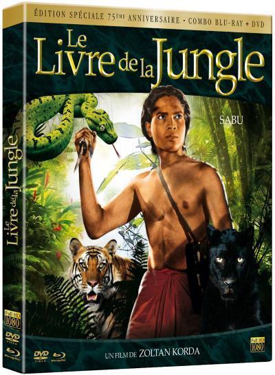 image dvd le livre de la jungle