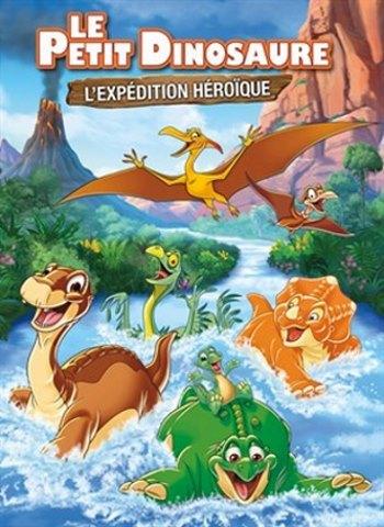 image affiche le petit dinosaure l'expédition héroique