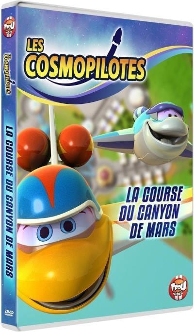 histoire dvd les cosmopilotes la course du canyon de mars