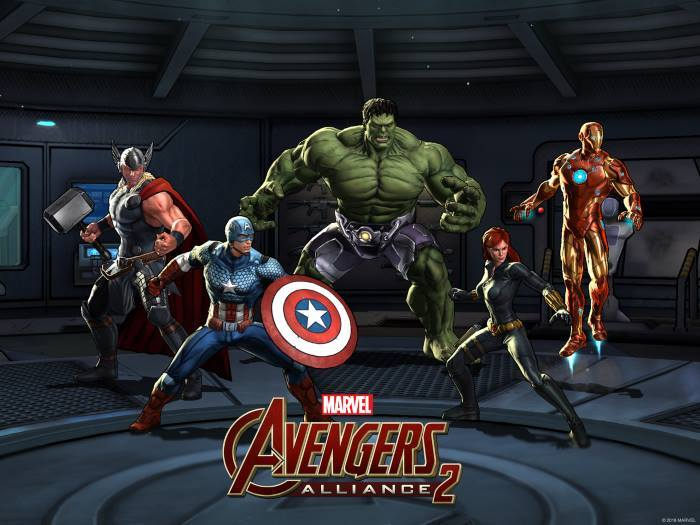 image jeu marvel avengers alliance 2