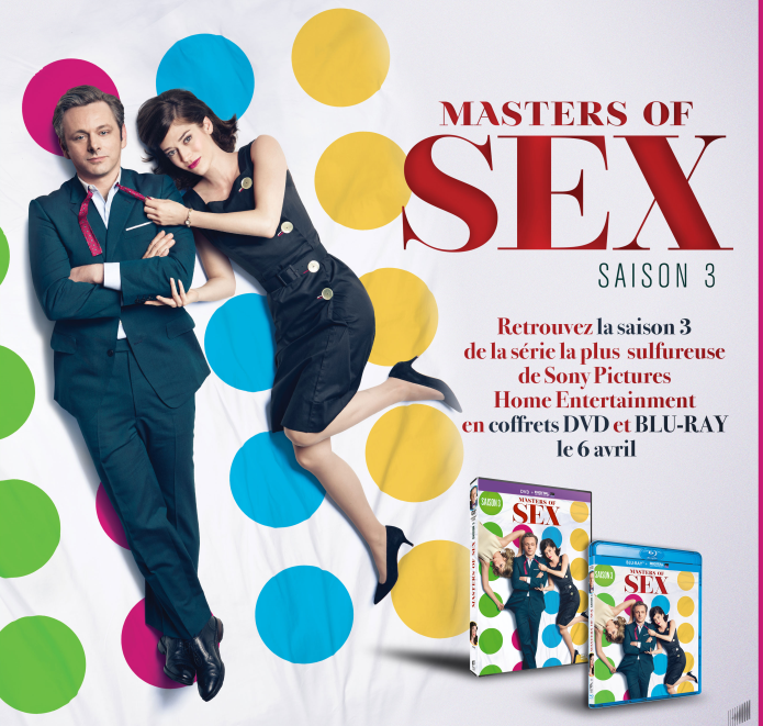 [News – Séries] Masters of Sex : La saison 3 en coffrets DVD et Blu-Ray le 6 avril