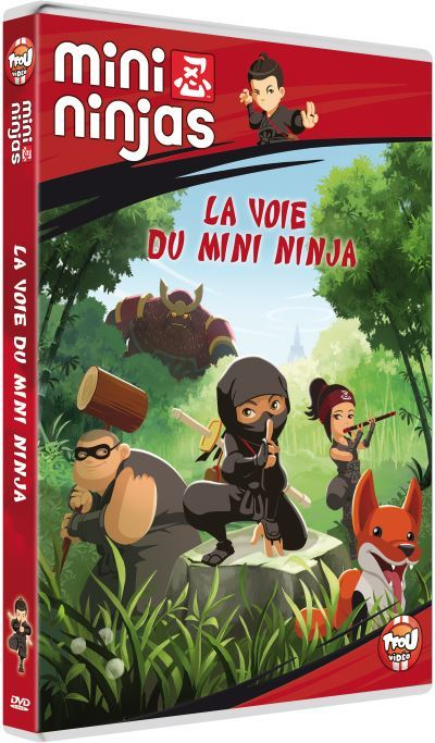 image dvd mini ninjas la voie du mini ninja