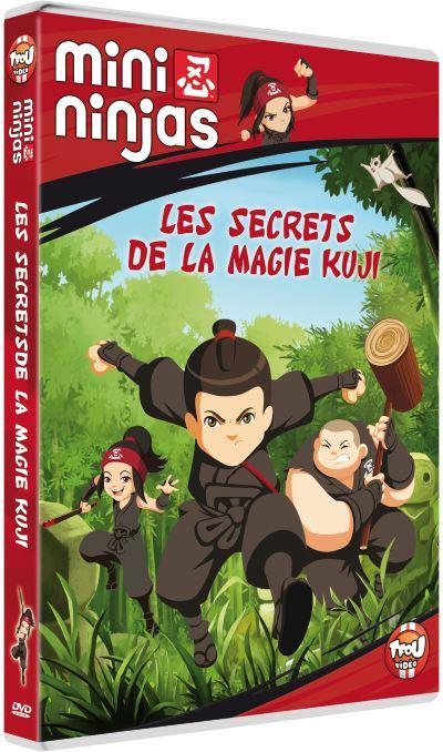 image dvd mini ninjas les secrets de la magie kuji