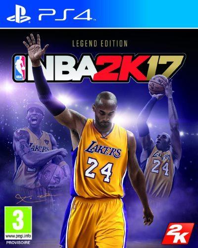 [News – Jeu vidéo] NBA 2K17 : une Legend Edition à la gloire de Kobe Bryant