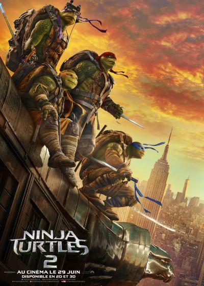 [News – Cinéma] Ninja Turtles 2 : c'est le Turtle day avec deux nouvelles vidéos et quatre visuels