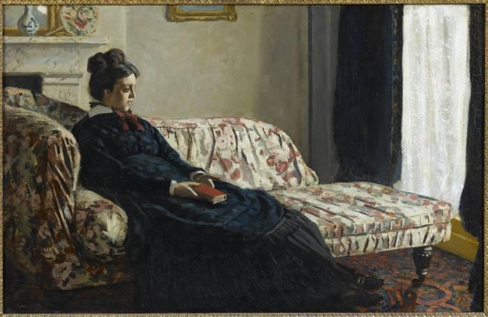 image claude monnet méditation scènes de la vie impressionniste