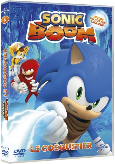 image dvd sonic boom le coequipier