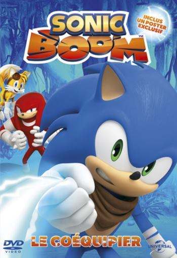 [Programme Jeunesse] Sonic Boom Volume 1 : Le coéquipier
