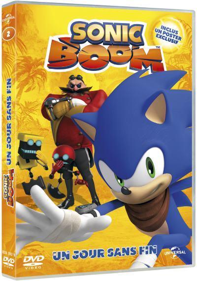 image dvd sonic boom volume 2 un jour sans fin