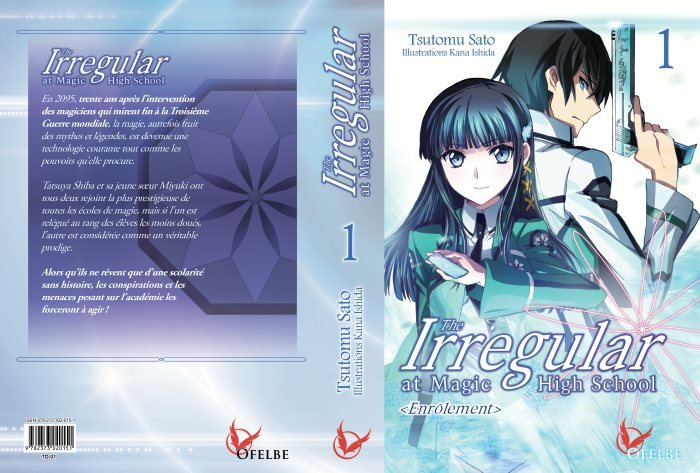 image light novel the irregular at magic high school