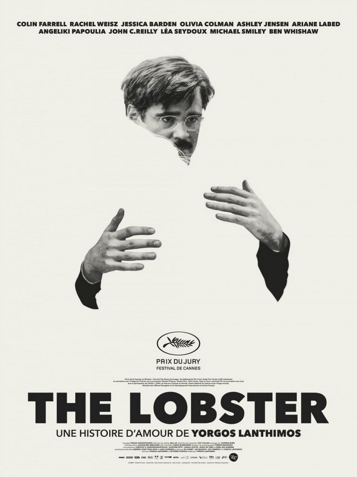 image affiche colin farrell the lobster yorgos lanthimos