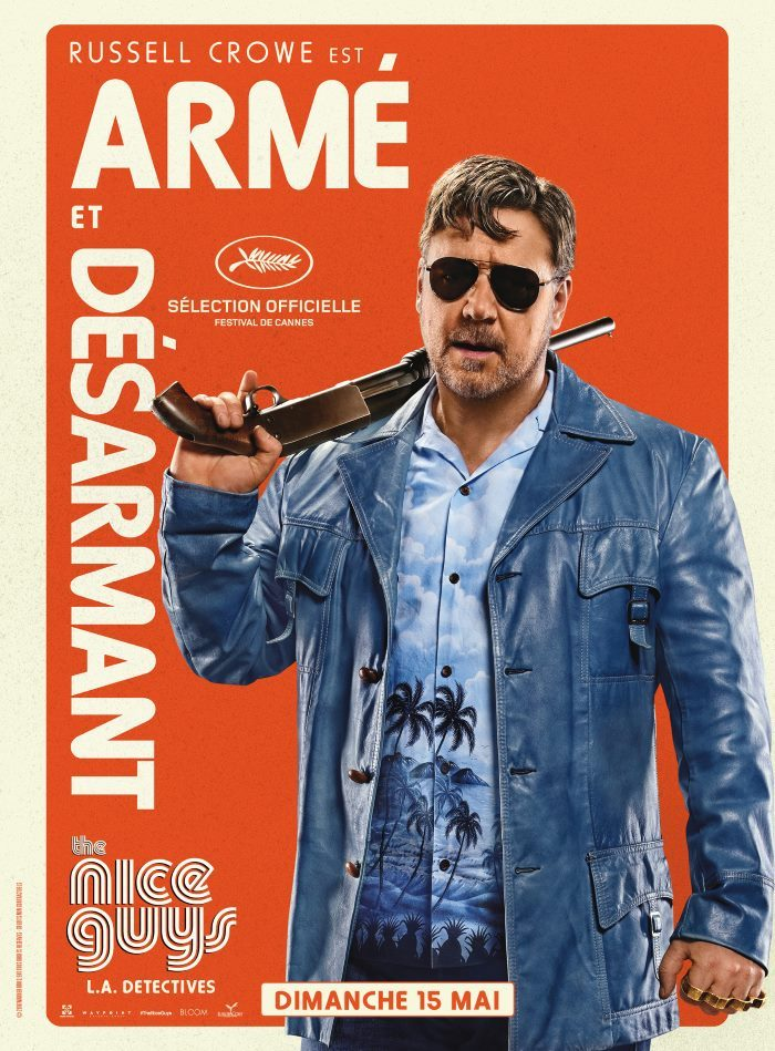 image affiche russel crowe the nice guys