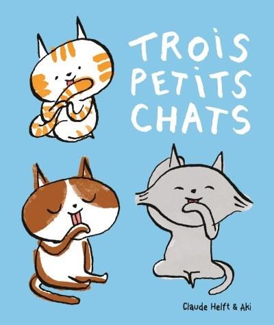 image trois petits chats