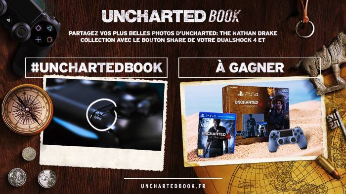 image visuel uncharted book