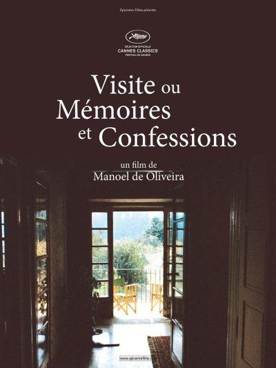 image affiche visite ou mémoires et confessions