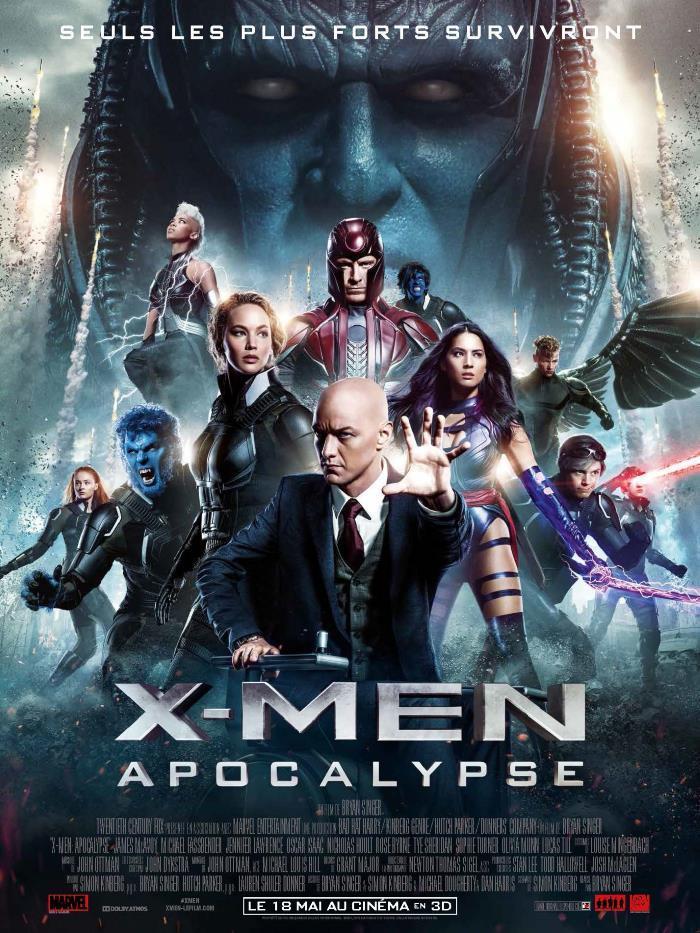 image news affiche x men apocalypse