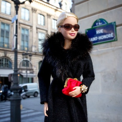 image barbie instagram rue saint honoré mattel
