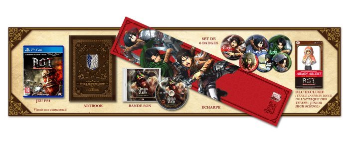image collector attack on titan wings of freedom