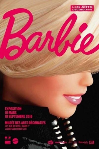 image affiche expo barbie arts décoratifs