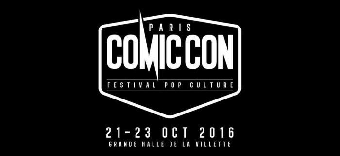 image logo comic con paris 2016