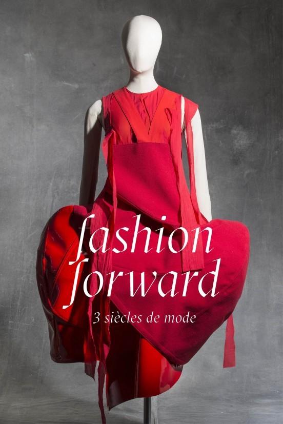image affiche exposition fashion forward arts décoratifs