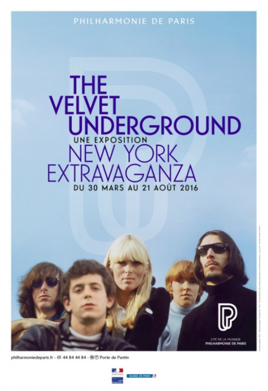 image affiche the velvet underground new york extravaganza philarmonie de paris