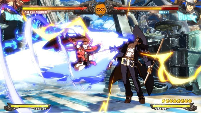 image versus guilty gear xrd revelator