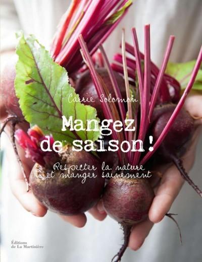 image couverture mangez de saison carrie solomon éditions de la martinière