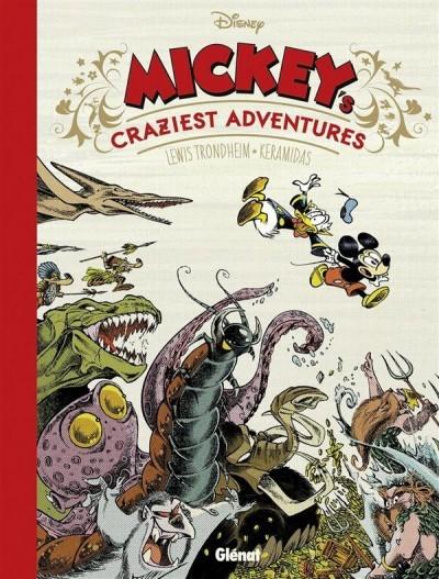 image couverture mickey's craziest adventures lewis trondheim nicolas keramidas éditions glénat