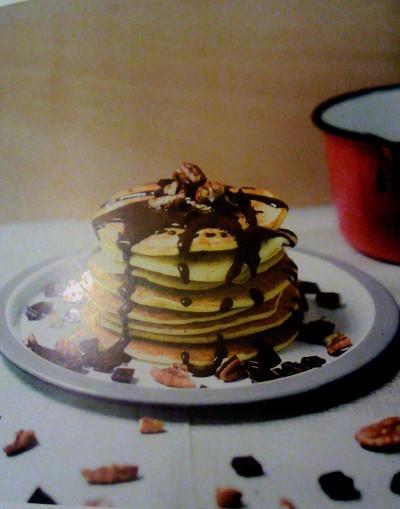 image pancakes sucrés et salés des pancake sisters éditions solar