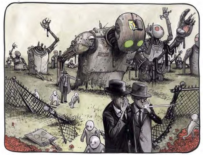 image case the wrenchies farel dalrymple éditions delcourt