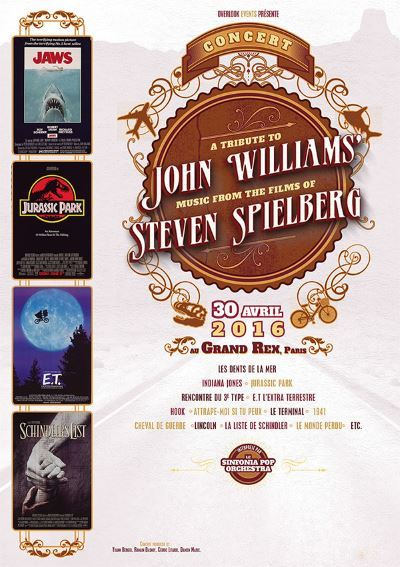 [Concert] Tribute to John Williams : music from the films of Steven Spielberg