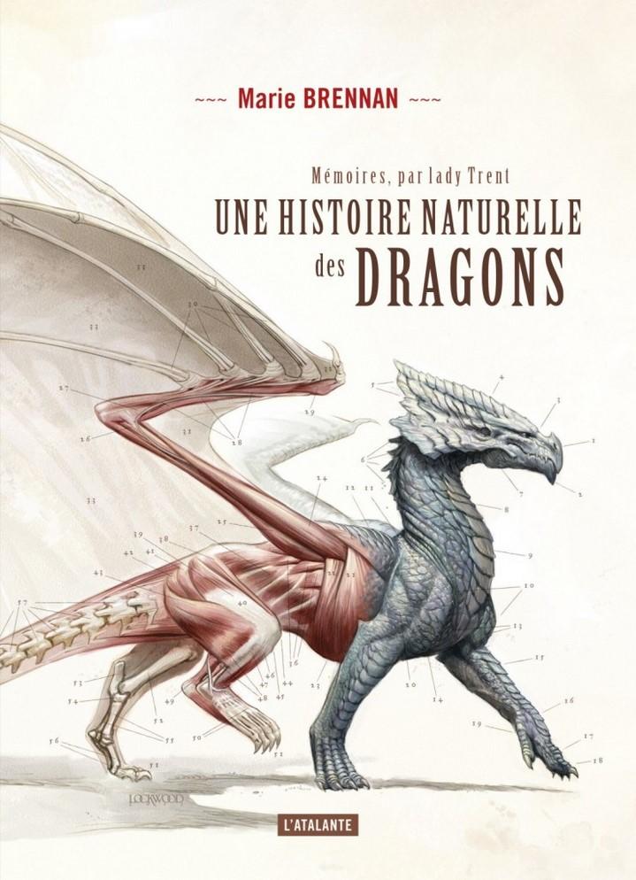 image couverture une histoire naturelle des dragons marie brennan