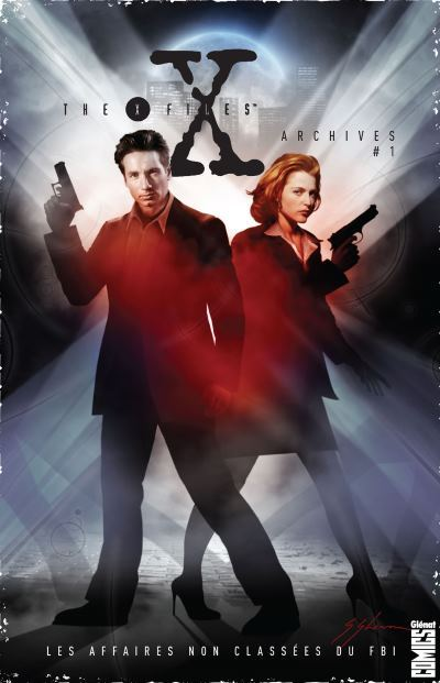 image couverture x-files archives 1