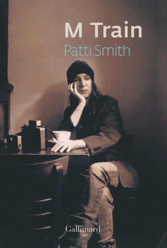 image couverture patti smith m train gallimard