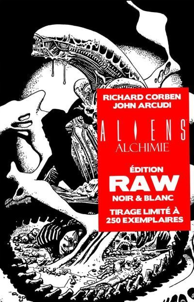 [News – Comics] Wetta : sortie d'Alien Alchimie édition RAW le 22/09/2016