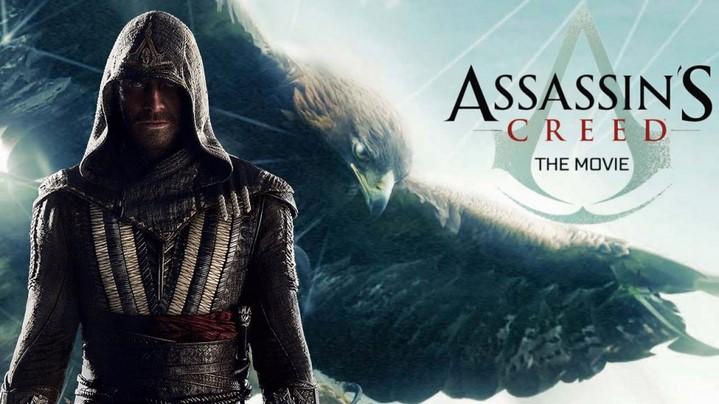 image affiche teaser assassin's creed film michael fassbender