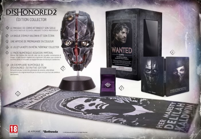 image édition collector dishonored 2