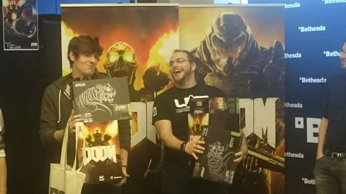 image gagnants doom game jam