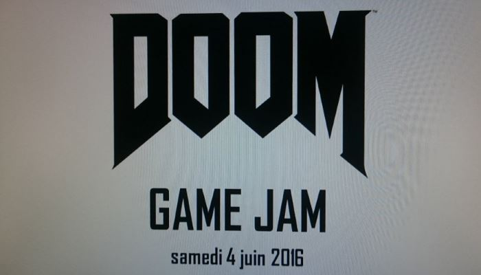 image logo doom game jam