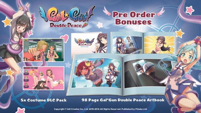 image artbook gal gun double peace