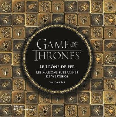 image les maisons souveraines de westeros game of thrones