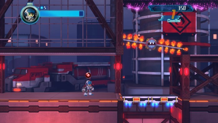 image gameplay mighty no 9
