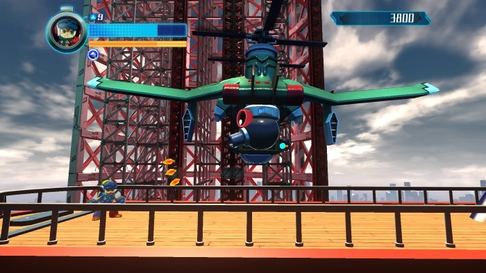 image screenshot mighty no 9
