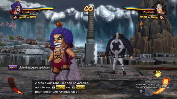 image jeu one piece burning out