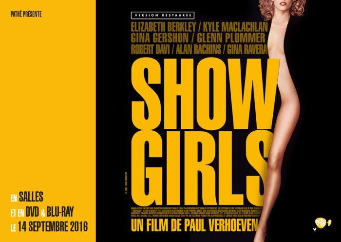 [News – BR/DVD/Cinéma] Showgirls : le film culte restauré en 4K