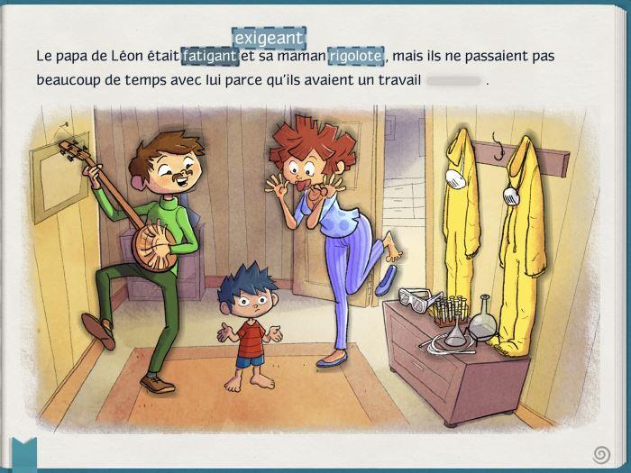 image screenshot swaptales léon