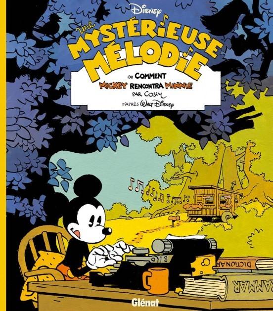 image couverture une mystérieuse mélodie cosey glénat