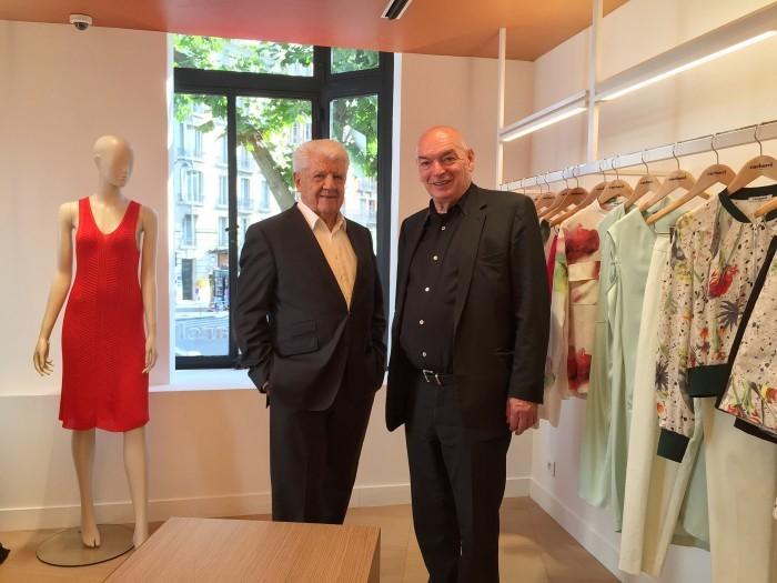 image jean bousquet jean nouvel inauguration boutique cacharel rue de buci